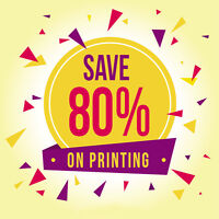★Want to Print Brochures - 80% OFF★