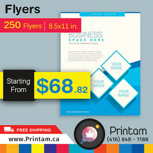 Promote your Business with Full Page Flyers -Starting $35.92 Kitchener / Waterloo Kitchener Area image 2