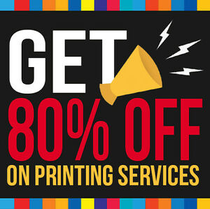 ★Loot SALE on 8.5 x 11 Brochure/Flyers Printing up to 80% OFF★