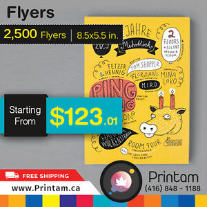 Do you want to increase more Sales ? Print Half page Flyers Kitchener / Waterloo Kitchener Area image 4