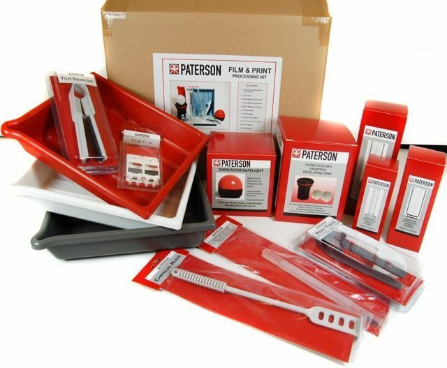 Paterson Photographic Darkroom Film And Print Processing Kit