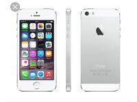 Iphone 5s silver neverlocked