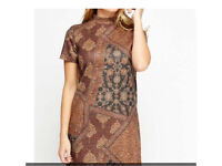 High neck dress- brand new with tags