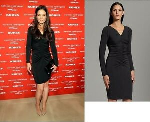 70-Narciso-Rodriguez-DesigNation-Ruched-Sheath-Dress-XS-S-M-ship-to-Russia