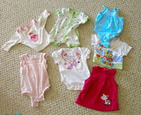 Summer/Fall Baby girl clothes size 0 to 3 months