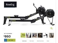 New Factory sealed Black Concept 2 Rower Model D2 PM5 Rowing Machine 5 years Manufacturer warranty