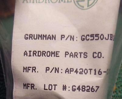 AIRDROME MIL SPEC AP420T16-073H DYNATUBE TITANIUM AIRCRAFT FITTING BAGED NEW