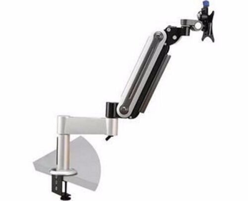 V7 Gas Spring Monitor Mount Arm Stand - Desk Clamp Style