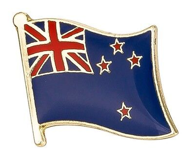 New Zealand - Flag Lapel Pin Badge  High Quality Gloss Enamel