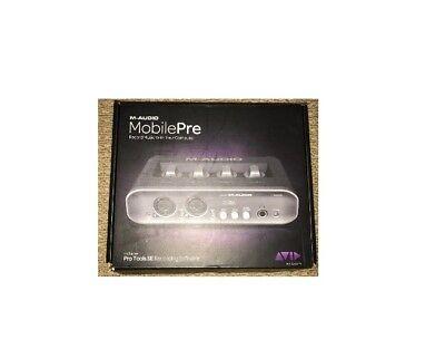Used AVID MobilePre Recording Studio, M-Audio - USB Audio Interface Pro Tools (Avid M Audio Pro Tools Recording Studio)