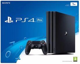 PS4 PRO 1TB, PS VR, PS camera v2, PS move controllers