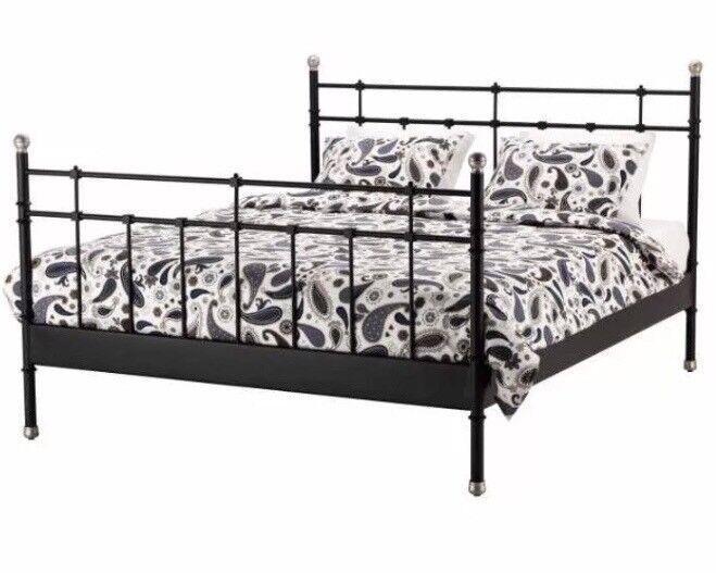Ikea cast iron bed frame | in Hackney, London | Gumtree