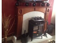 Fire Place and Marble Arth