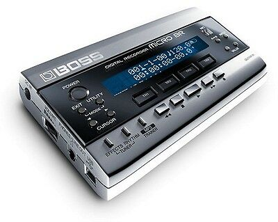 BOSS MICRO BR DIGITAL MULTI 4 TRACK RECORDER & EFFECTS 1GB + POWER SUPPLY BR-80 (Boss Micro Br)
