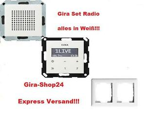gira radios g nstig online kaufen bei ebay. Black Bedroom Furniture Sets. Home Design Ideas