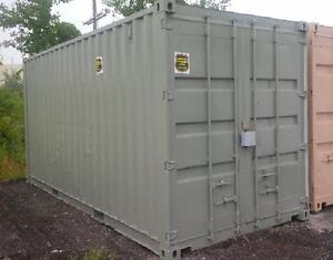 Painted and refurbished sea containers in all sizes!