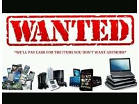 WANTED..XBOX ONE, PS4, PLAYSTION VR or iPad WILL COLLECT (LONDON & SURROUNDING AREAS)