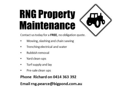 RNG Property Maintenance and Consulting