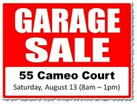 Multi-family Garage / Yard Sale at 55 Cameo Court - Sat, Aug. 13