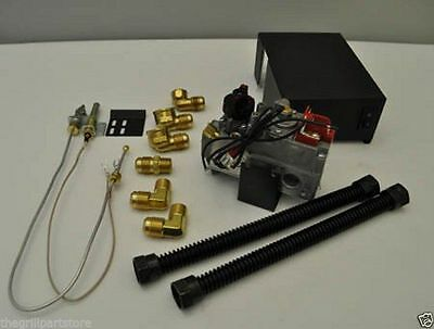 Fireplace Gas Log Millivolt Remote Capable Natural Gas Valve Kit Mvk N New