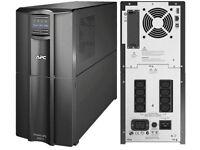 UPS Backup power supply. APC SMT3000I Smart-UPS 3000VA LCD 230V NEW and UNUSED