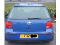 VW Golf Tailgate Breaking For Parts (2002)