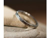 Introduction to Jewellery Making - Make a Silver Ring Workshop - Saturday 4th March, 10 am - 12 noon