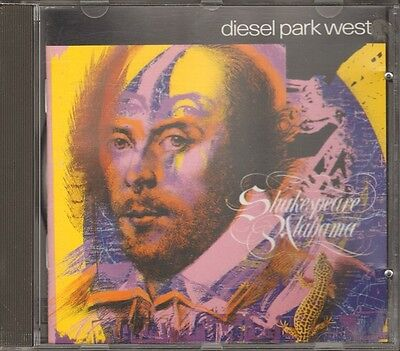 DIESEL PARK WEST Shakespeare Alabama CD NEW 12 track 1989