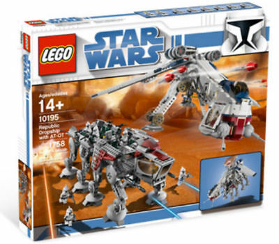 Lego   Star Wars 10195 Republic Dropship With At Ot Walker   New See Description