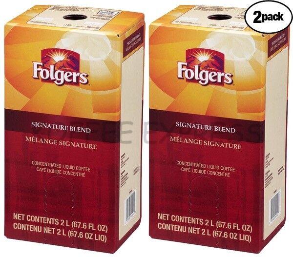 Folgers Liquid Coffee 2 L Signature Blend (Two)