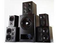 M&K S150p Active Monitor speakers
