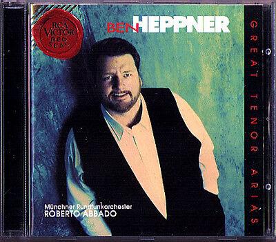 Ben HEPPNER:TENOR ARIAS Bizet Verdi Puccini Massenet Meyerbeer CD Roberto ABBADO ()