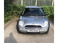 Mini one spares or repairs swap might add cash