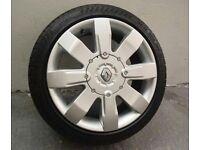"Price drop 4x Genuine Renault Clio sport 182 alloys - Refurbed/New tyres 16"" 4x100"
