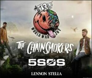 The Chainsmokers, 09/10/2019, Centre Bell, Parterre, Rouge