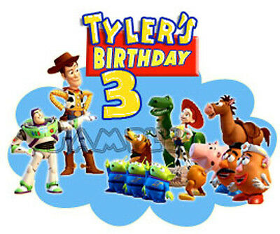 Toy Story Movie Personalized T Shirt Party Favor Birthday Gift present add name