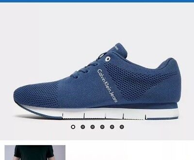 Calvin Klein Jeans Jado Mesh Men,s Trainers Size Uk 8.5