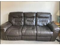 3 seater recliner sofa with 2 seater recliner sofa Delivery available