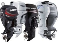Wanted outboards any condition running or not