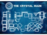 Crystal Maze tickets Manchester - Team of 8 people