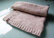 Brand NEW Beautiful handcrafted baby/pram blankets throws. Elwood Port Phillip Preview