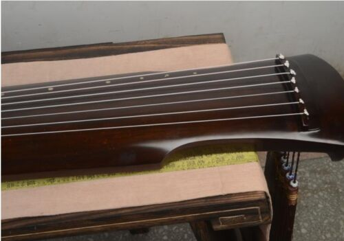 Chinese 7 String Instrument Fuxi Style Guqin /candlenut wood guqin