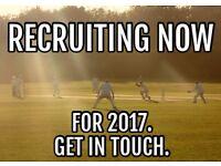 Headingley Bramhope CC are recruiting now