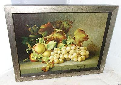 schönes Stillleben Obst Trauben Kunstdruck Sauvage
