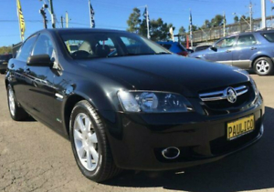2010 Holden Berlina VE MY10 Black 6 Speed Automatic Sedan Sylvania Sutherland Area Preview
