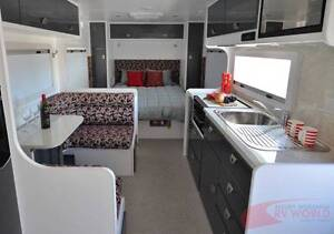 Crusader Athos New Caravan -Roomy layout -Washing Machine - Solar Wodonga Wodonga Area Preview