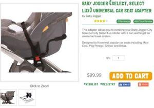 Baby Jogger stroller adapter