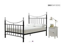 Cast Iron King Bed Frame