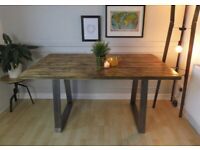 Bespoke Rustic furniture! Tables/Desks/Benches/TV Units etc.. ORDER NOW IN TIME FOR CHRISTMAS