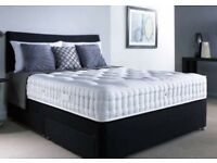 "NEW ✅Double bed with 11"" memory foam mattress"